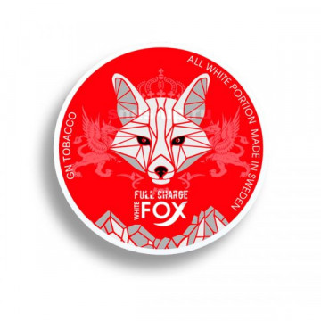 White Fox Full Charge Tobacco Free - Click to Enlarge