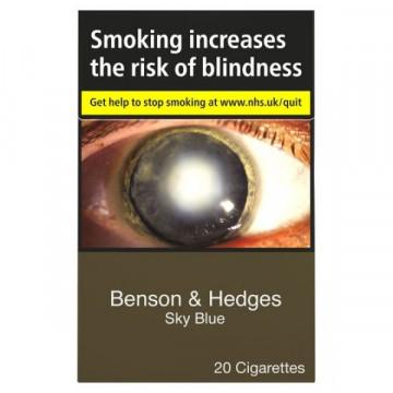 Benson & Hedges Blue Sky Blue Kingsize - Click to Enlarge