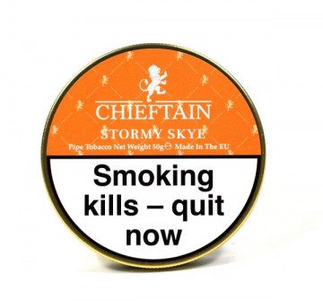 Chieftain Pipe Tobacco Stormy Skye - Click to Enlarge