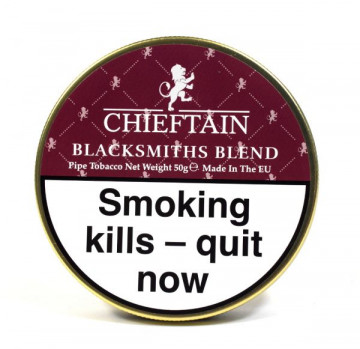 Chieftain Pipe Tobacco Blacksmiths Blend - Click to Enlarge
