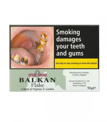 Samuel Gawith Balkan Flake - Click to Enlarge