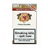 Cuban Romeo y Julieta Wide Churchill Tubed
