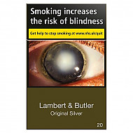 Lambert & Butler Original Silver
