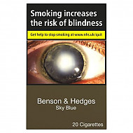 Benson & Hedges Blue Sky Blue Kingsize
