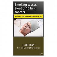 L & B Blue Longer Lasting Superking