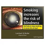 Lambert & Butler Original Silver 5X20