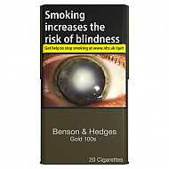 Benson & Hedges Gold 100's
