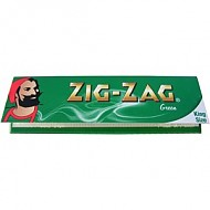 Cigarette Rolling Papers Zig Zag Green Kingsize Papers